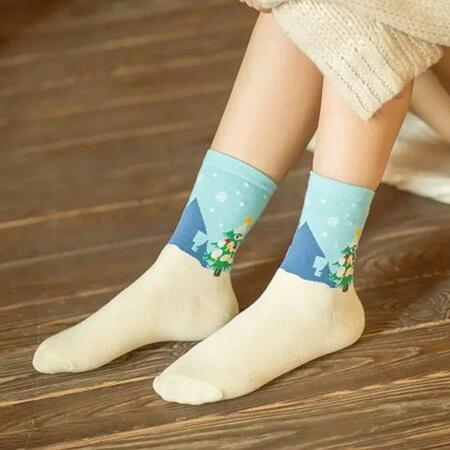 Women Christmas socks